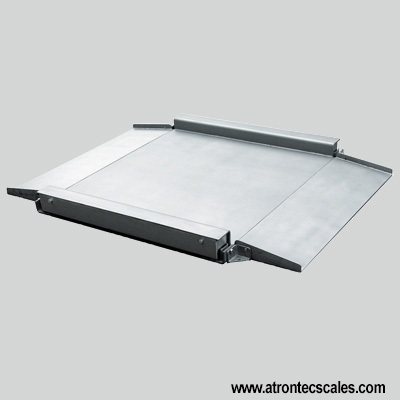 Floor Scale Stainless Steel Design Low-Profile Platform