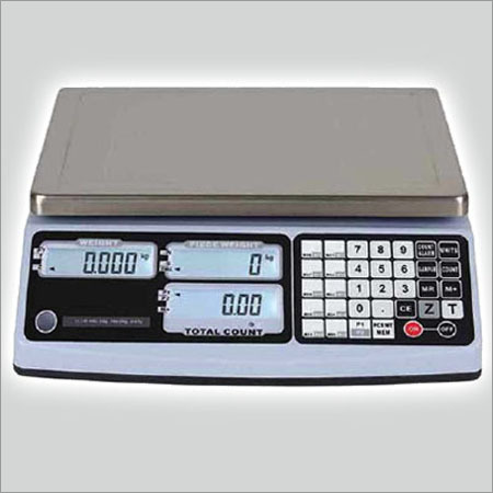 High Precision Counting Scale with piece weight memory