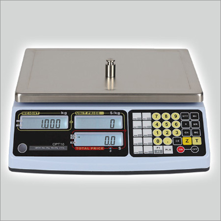 Price Computing Scale with PLU