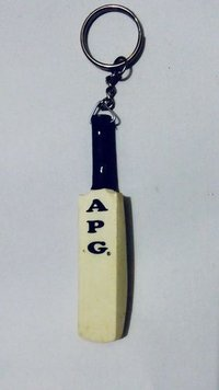 APG Cricket Bat Keyring