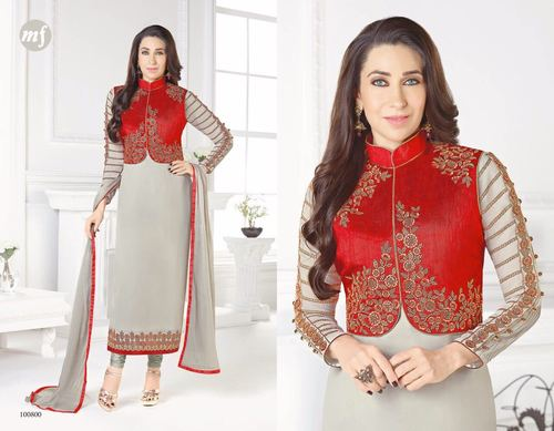 Koti Style Churidar Salwar Kameez