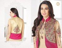Churidar Salwar Suit With Koti