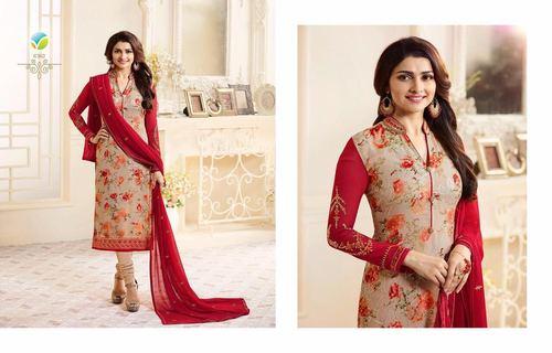 Digital Print Churidar Salwar Suit