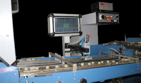 Dual Camera Print Verification System for folding machine