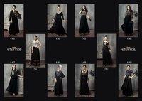 Eternal Lunching New Long Designer Kurtis The Black Stage Vol - 2, 460 to 469 Series