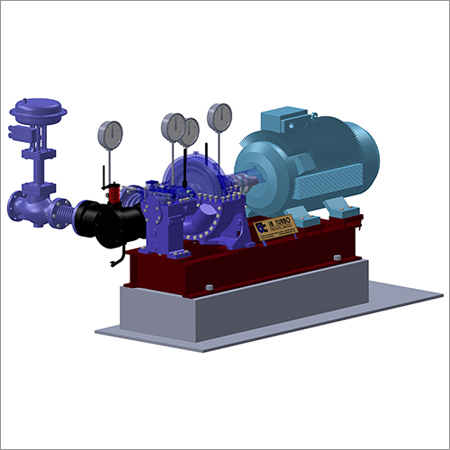 Saturated Steam Turbines