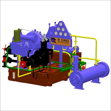 Multistage Back Pressure Turbines