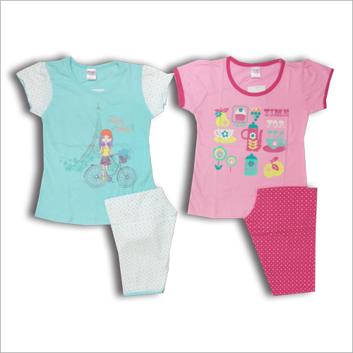 Girls Capri Set