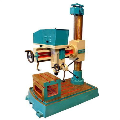Industrial Radial Drill Machine