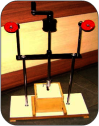 Joule's Mechanical Heat Experiment Apparatus