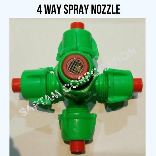 4 Way Spray Nozzle