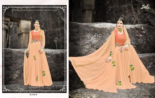 Fashionble Designer Gown