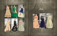 Bela Fashion Lunching New Mehzabeen 2493 To 2501 Series