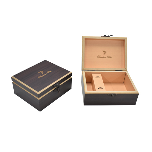 Logo Engraved Wooden Box