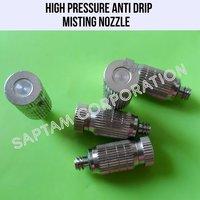 High Pressure Anti Drip Misting Nozzle