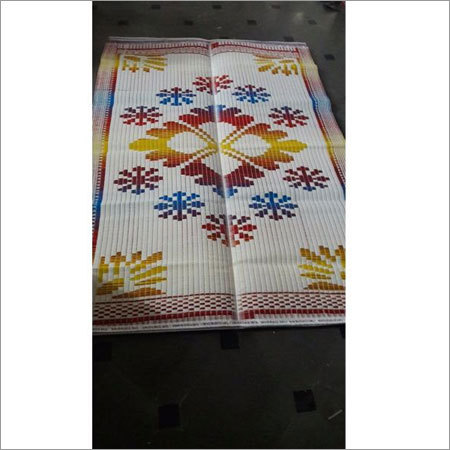 Base white multi color PP mats