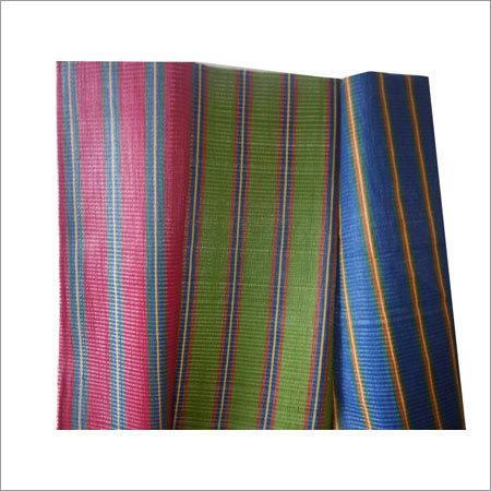 PP multi color stripe Mat