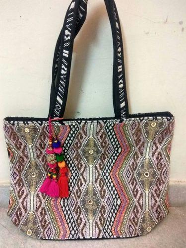 Beaded Embroidery Shoulder Bag