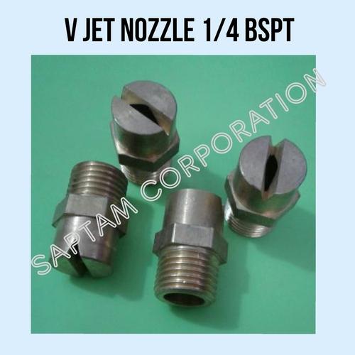 1/4 BSPT V Jet Nozzle