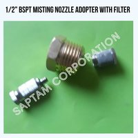 1/2 Bspt Misting Nozzle Adopter With Filter