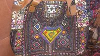 Embroidery beaded  bag