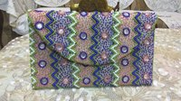 Ladies Beaded Embroidered Clutch