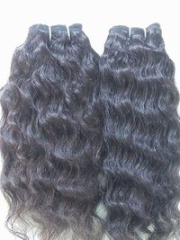 MACHINWEFT BLACK HAIR