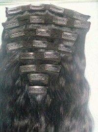 BLACK CLIP HAIR