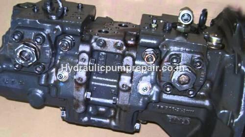 L&T KOMATSU Hydraulic pump repair