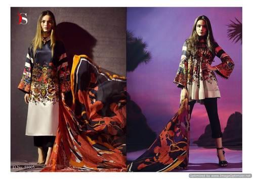 Casual Cotton Silk Salwar Suit