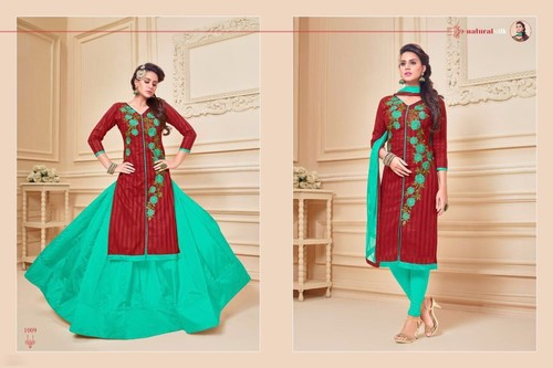 Designer Cotton Party wear Salwar Kameez
