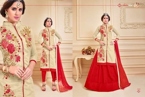 Nazmeen Dupatta Cotton Salwar Suit