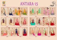 AVC Lunching New Designer Salwar Suit Antara Vol - 15, 1001 To 1012 Series