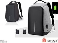 Anti -Theft Business Laptop Backpack with USB Charging Point