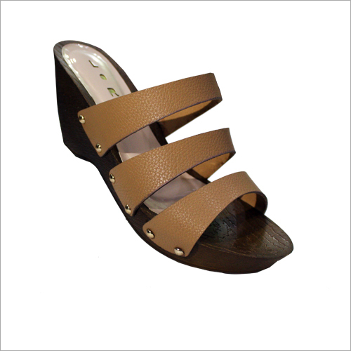 Ladies Wedge High Heel Sandal