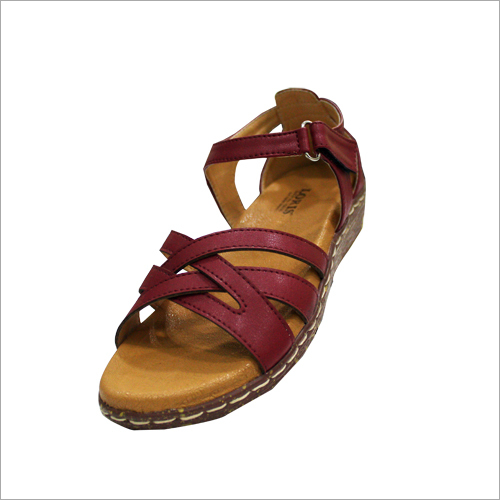 Ladies Designer Wedge Flat Sandal