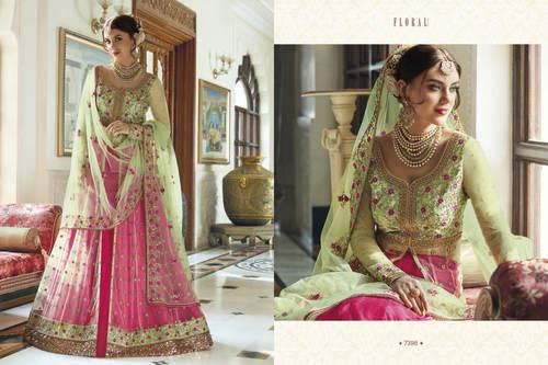 Heavy Bridal Long Anarkali Salwar Kameez