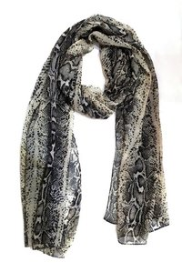Animal Printed Chiffon Scarves