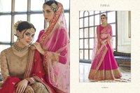 Pink Heavy Designer Bridal Lehenga Choli