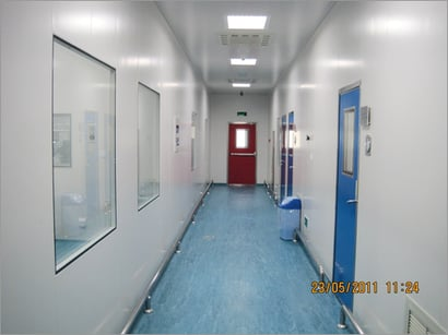 Modular Clean Room Panels Certifications: Ce Certified