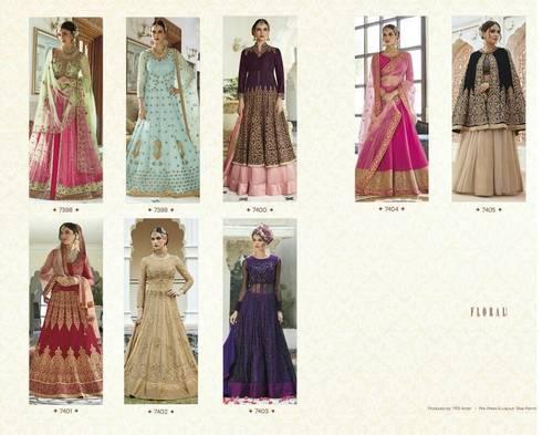 Floral Lunching New Heavy Designer Long Anarkali Salwar Kameez
