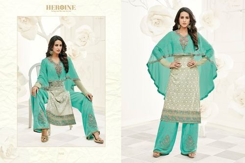 Palazzo Style Party Wear Salwar Suit