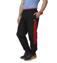 Men's Black & red trackpants
