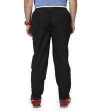 Men black & green Trackpants