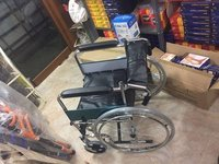 Back Fold & Foot Detachable Wheelchair