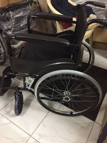 Powder Coated Imported Wheel Chair
