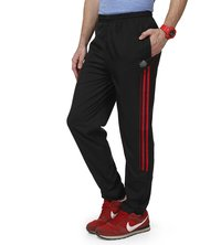 Black & Red Track Pant for mens