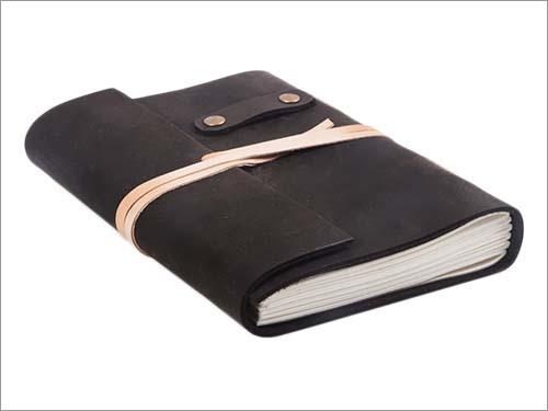 Black Colour Leather Diaries