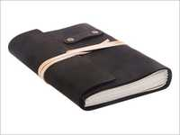Black Colour Leather Diaries