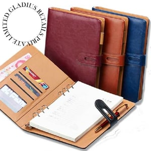 Leather Diary In Brown Colour